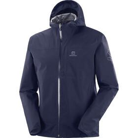 Salomon Outrack Waterproof Jacket Men, blu